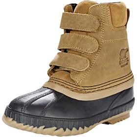 Sorel Cheyanne II Hook-and-loop Boots Children Elk/Black